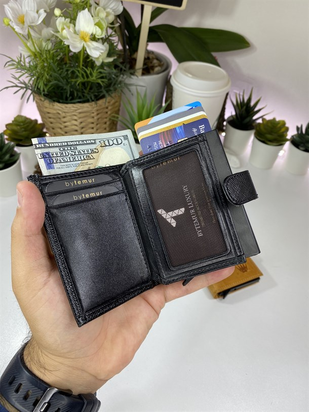 SMART CARD CASE PREMİUM BLACK