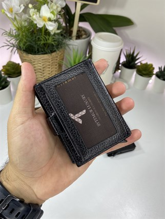 SMART CARD CASE BLACK